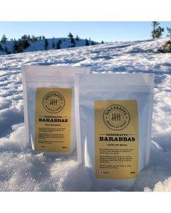10x Røverkaffe BARABBAS hele bønner 250g