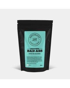 Røverkaffe BAD ASS espresso filtermalt 250g