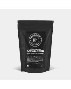 10x Røverkaffe GJENGANGER - malt 250g
