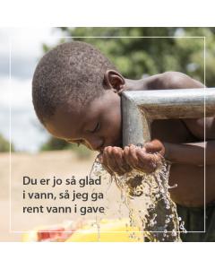 Rent vann i en uke