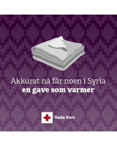 Tepper til syriske barn